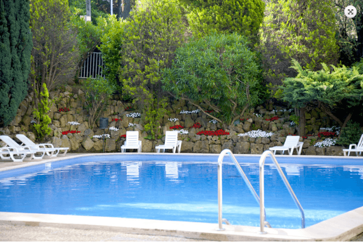 piscine villa vera