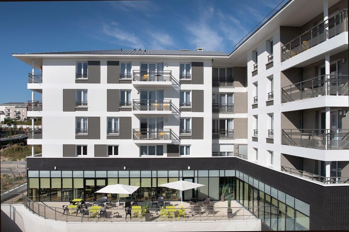 facade - domitys - moulins bruyeres