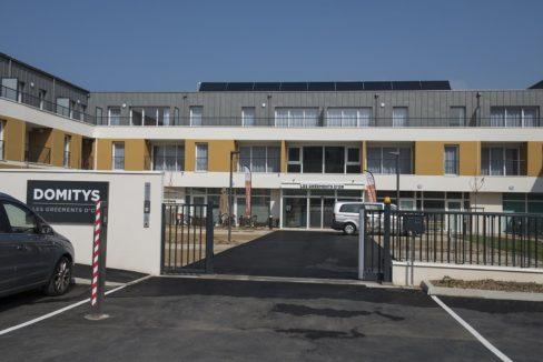 facade-exterieur - residence-senior-douarmenez-domitys
