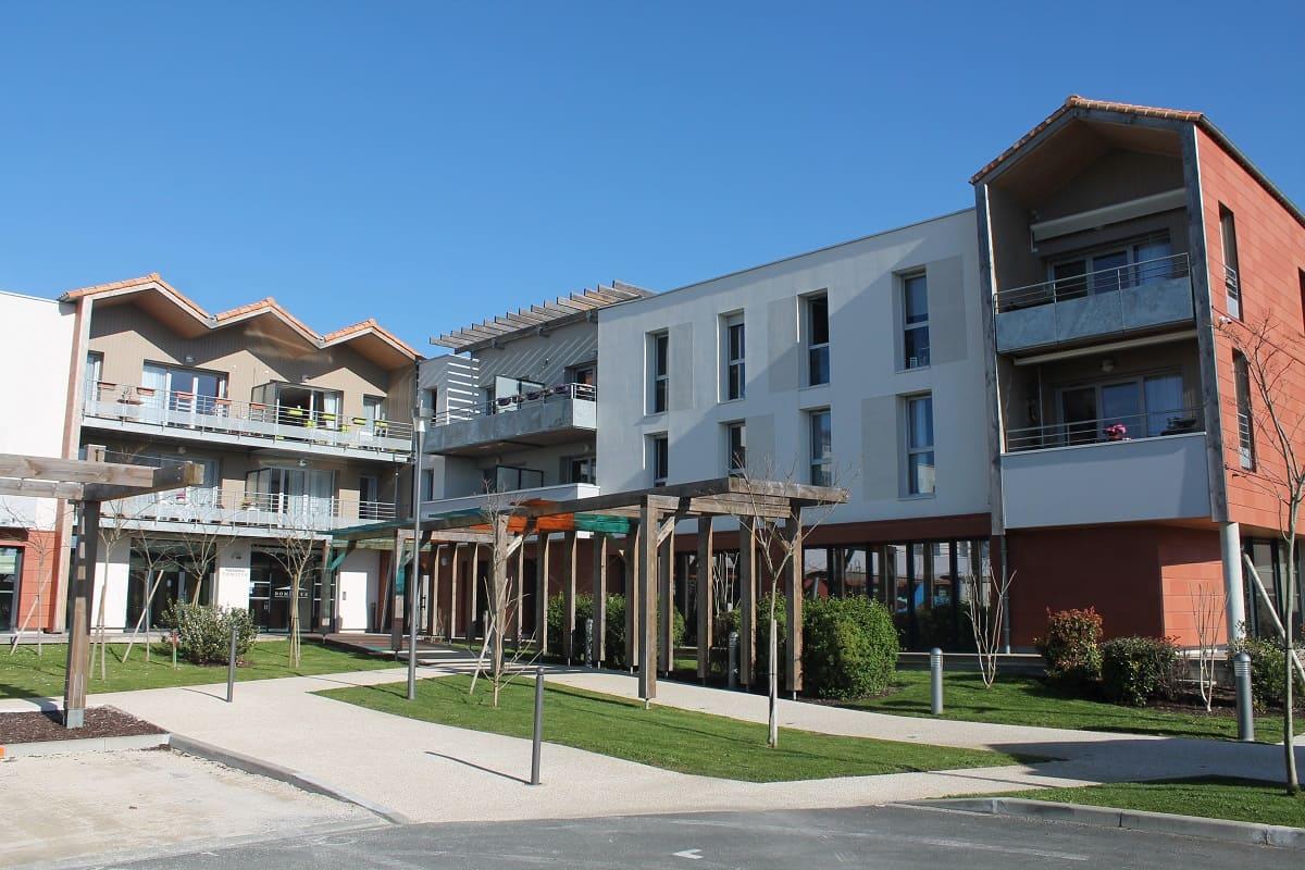 facade exterieur-residence-seniors-La Tremblade