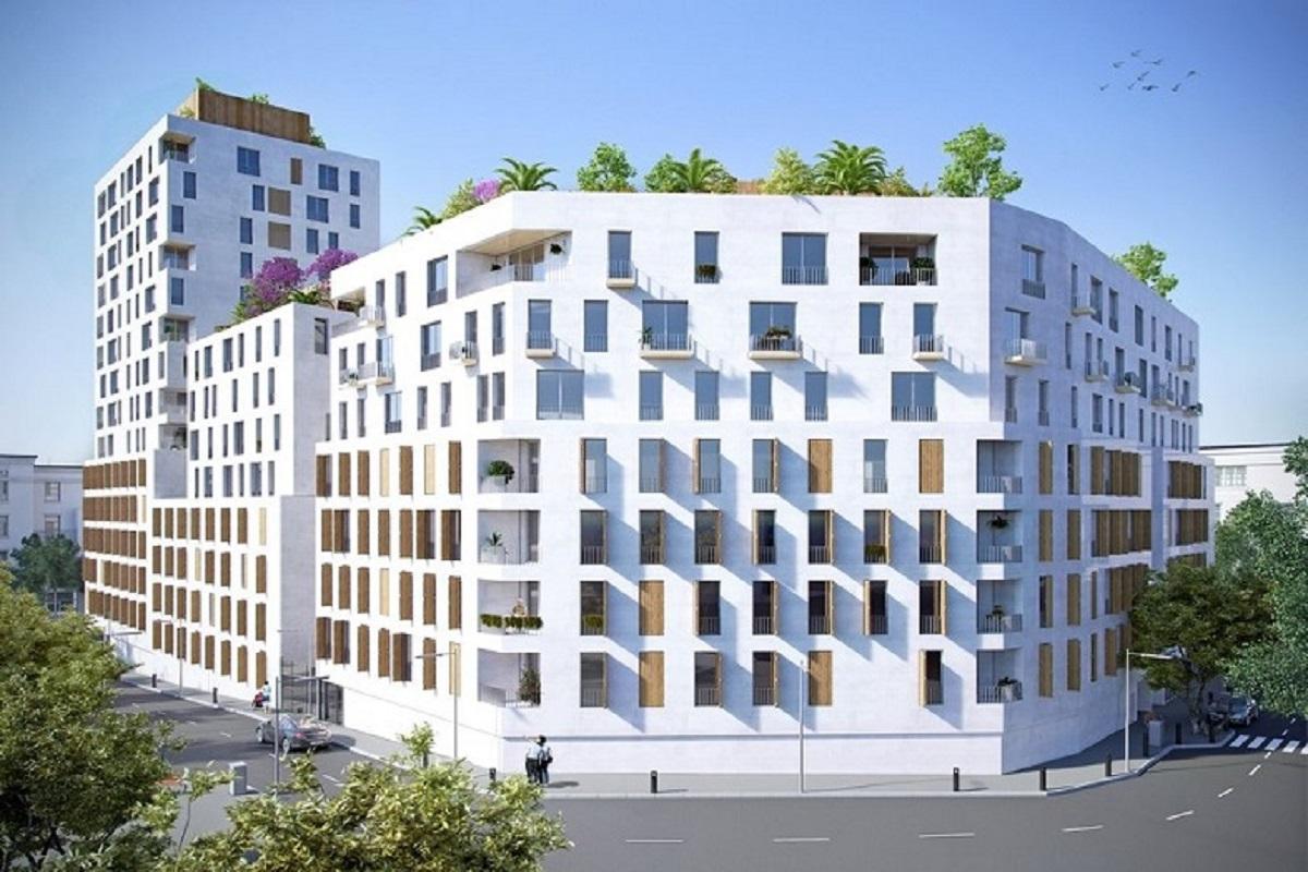 facade - les girandières - marseille