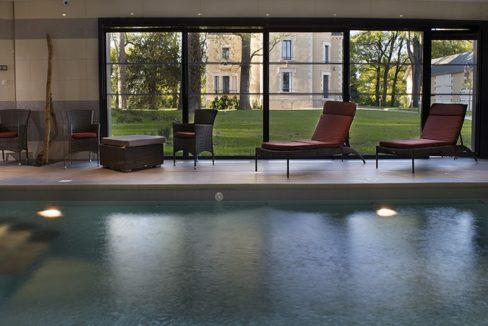 piscine - domitys - chateau des plans