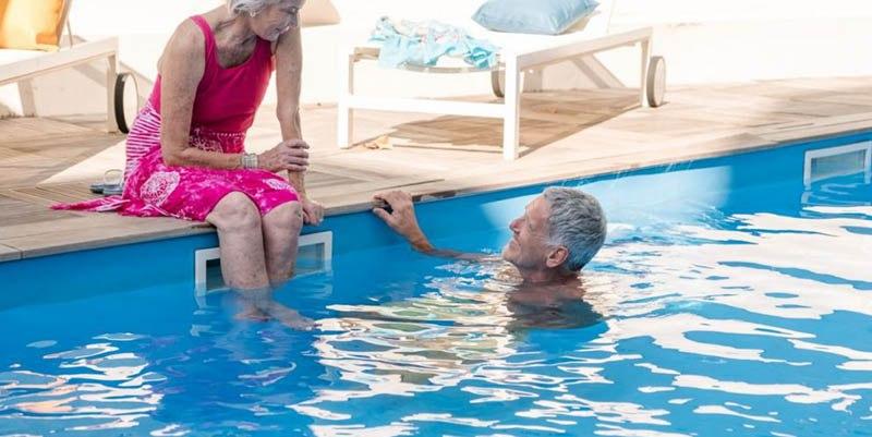 résidence senior villa d'hélios piscine