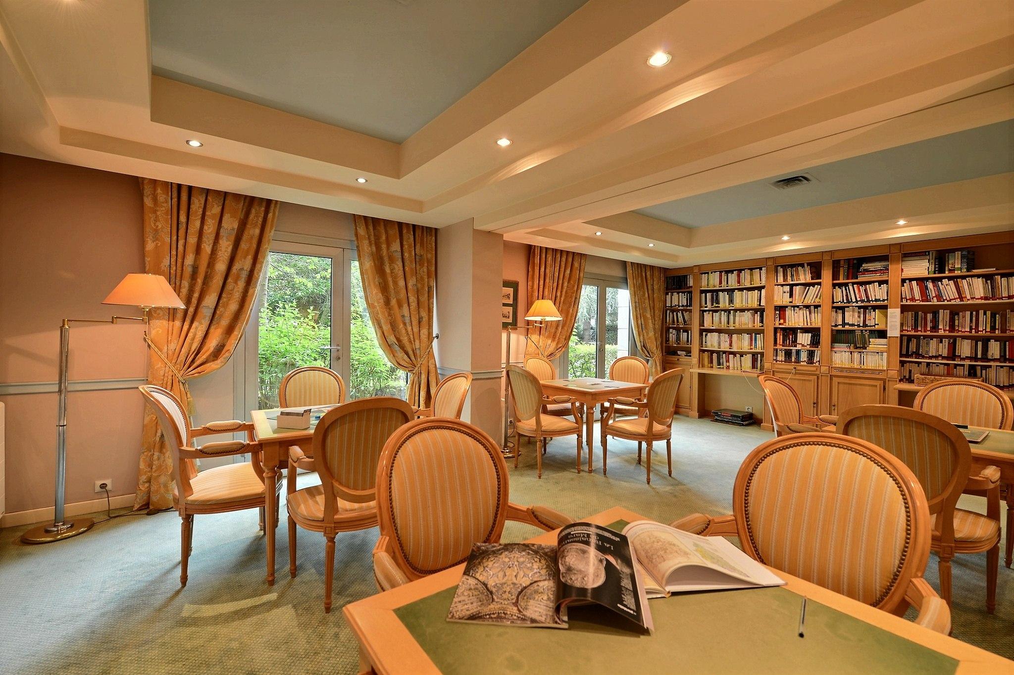 bibliothèque résidence