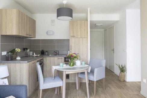 cuisine-residence Le Jardin des Orchidées-cogedim
