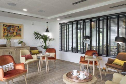 espace commun - residence senior - Le Jardin des Orchidées