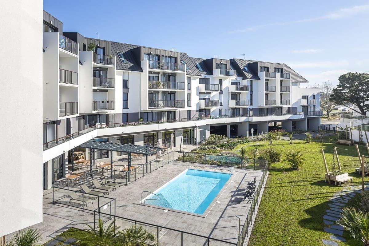 Facade exterieur- residence- Le domaine de l'Etier-Cogedim club (1)