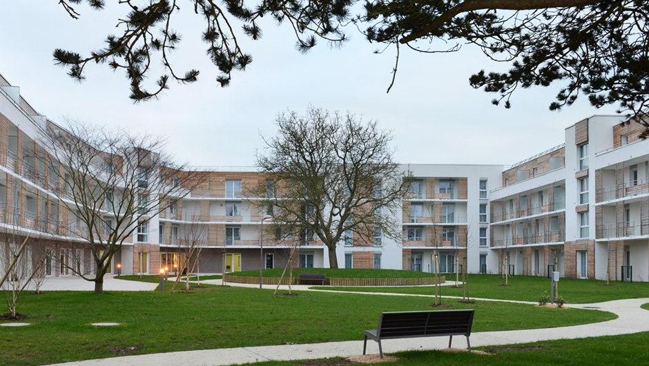 Les Falaises Blanches - Résidence Services Seniors Domitys à Bayeux