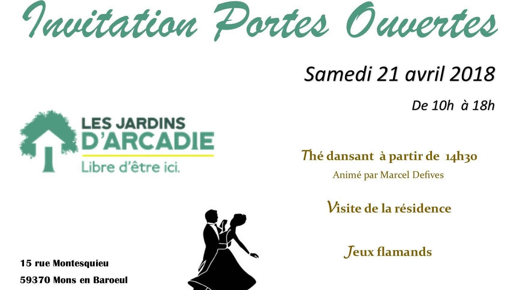 Les Jardins d'Arcadie Mons-en-Baroeul - Résidence Services Seniors