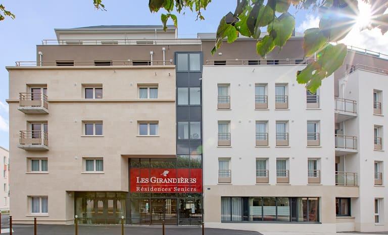 Les Girandières Orléans - Extérieurs_Façade