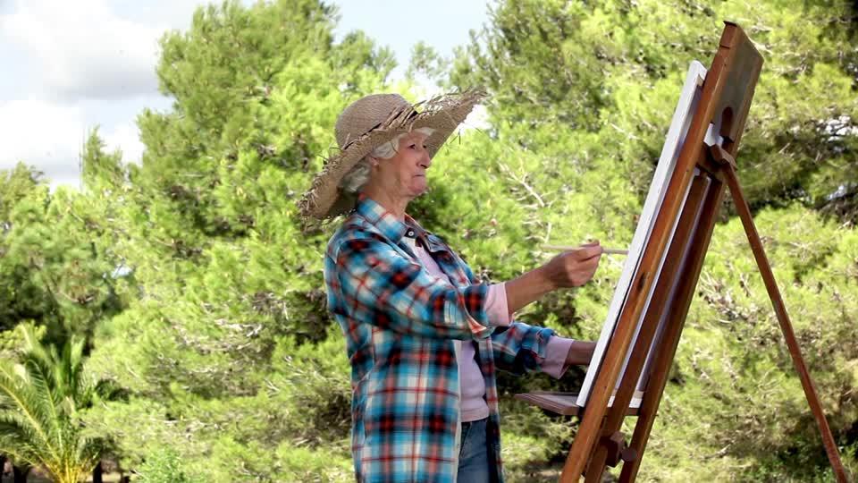 Les seniors et l'art en résidences seniors
