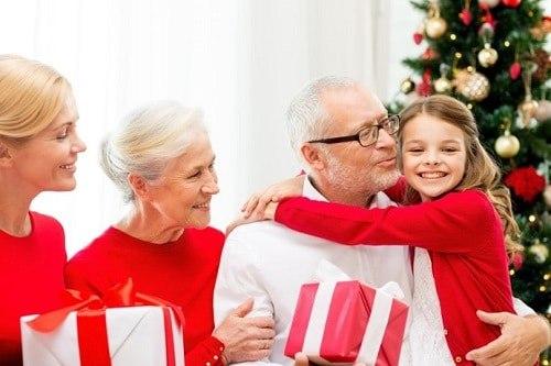 Noël personnes âgées