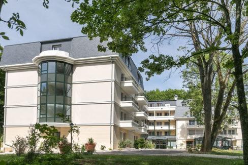 facade - villa médicis - Dijon