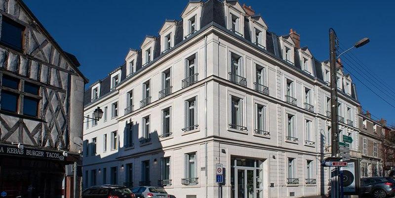 résidence senior le bourg neuf domitys façade