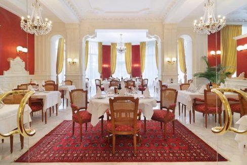 restaurant - villa médicis - Besancon