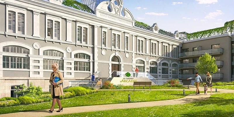 residence senior les jardins d'arcadie limoges