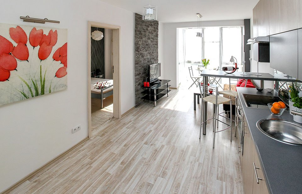 appartement meublé intérieur logement