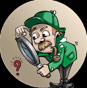 par où commencer residence service senior detective illustration