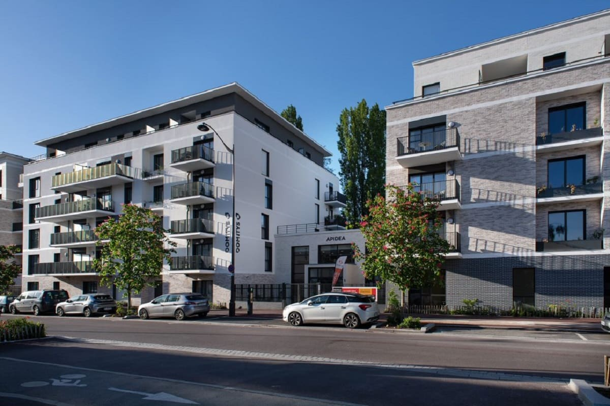 facade-residence senior-Rueil MalMaison