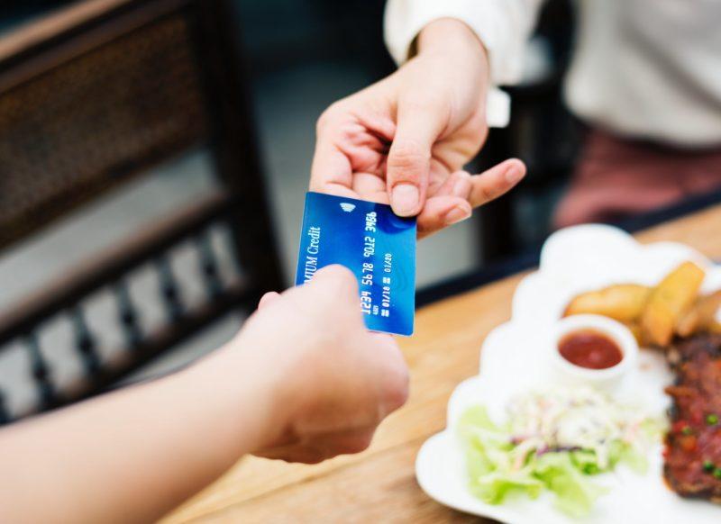 carte bleue repas