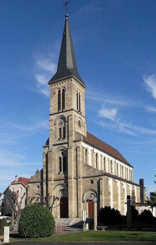 Kingersheim,_Eglise