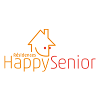 logo happy senior