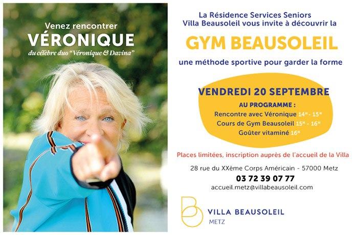 villa beausoleil invitation gym douce