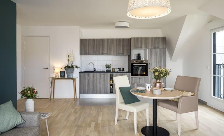 cuisine-residence-senior-cogedim-club-puteaux